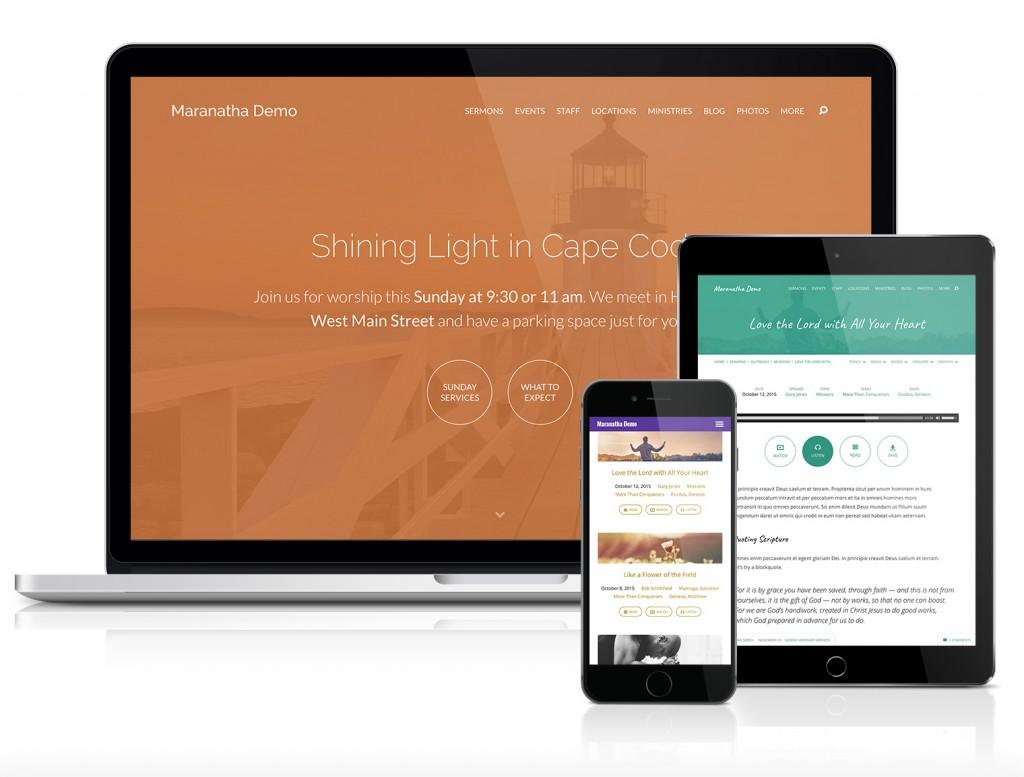 Maranatha Church Website