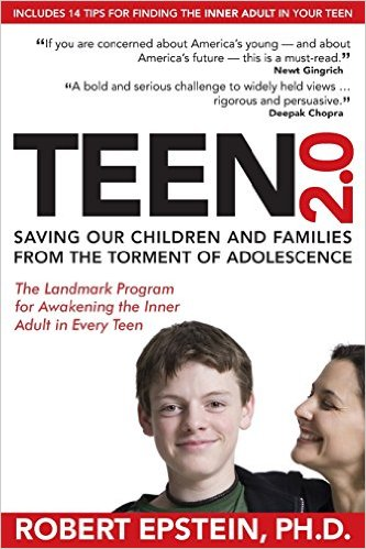 A book written by a psychologist that challenges your assumptions about adolescence.